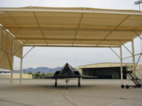 Metal & Fabric Aircraft Shelters