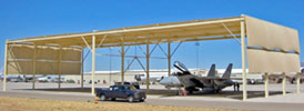 Military Aircraft Covers & Shelters