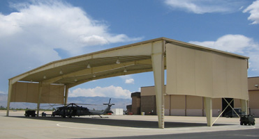 Helicopter Shelters & Fabric Shelters